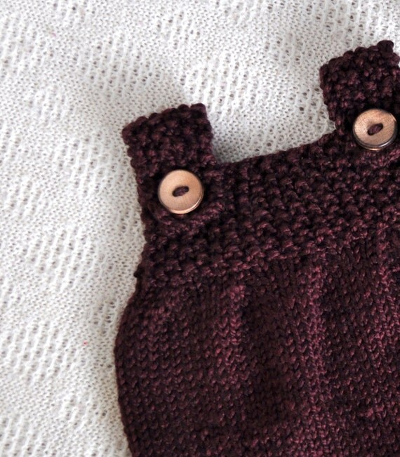 Knitting Pattern for Doll Tunic Dress  - Tilly's Tunic