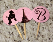 Cupcake Toppers - Made to Match ANY Design - PRINTABLE - Whirlibird