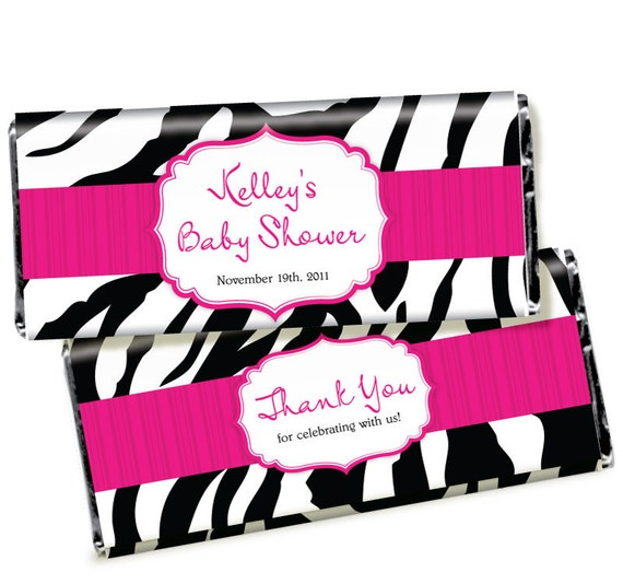 Candy Wrapper Favors - Made to Match ANY Design