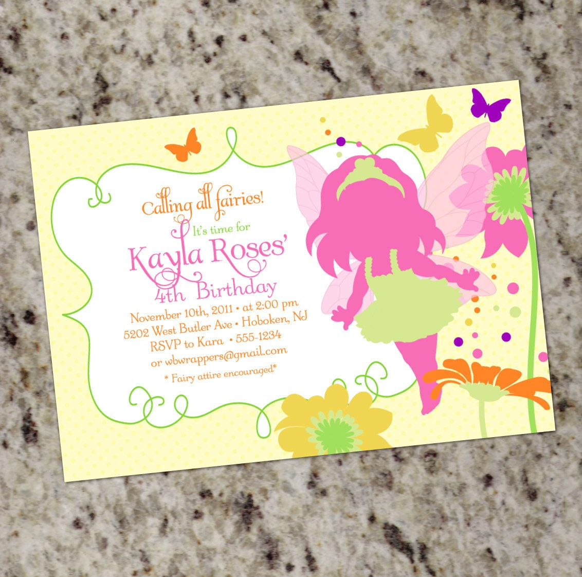 Fairy Birthday Invitations is an amazing ideas you had to choose for invitation design
