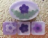 Glycerin Soap - Purple Huckleberry Flower