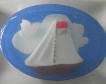 Nautical Sailing Sailboat Soap vegan glycerin