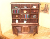 Miniature Bookcase And Stand