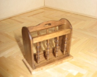 Miniature Magazine Rack