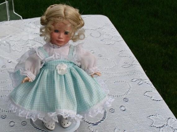 Handmade Porcelain Doll  Jill