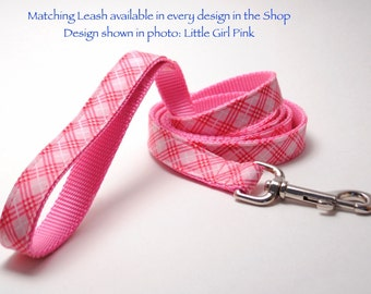 ANY Design 4 Foot Custom Leash to Match Dog Collar