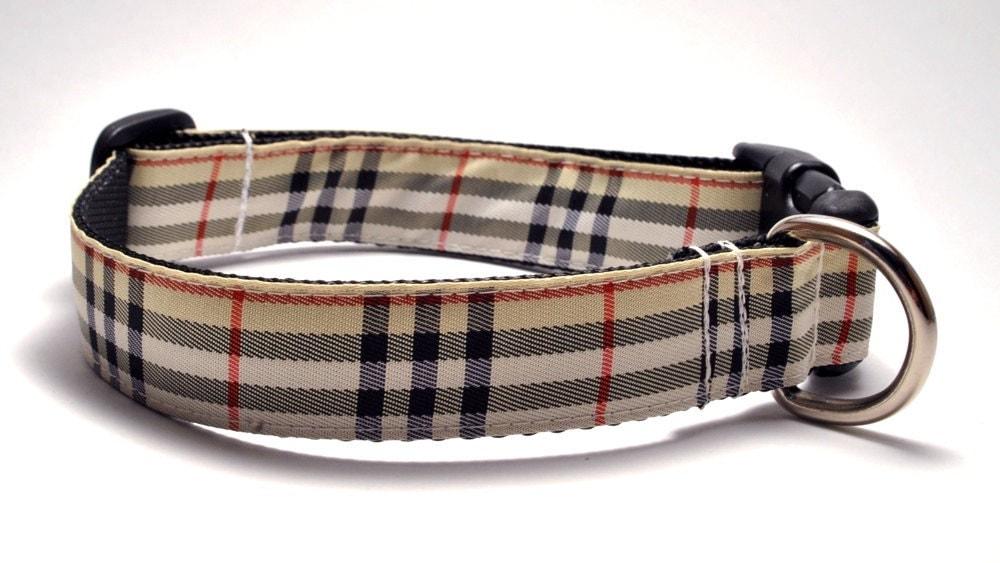 Burberry Dog Collar