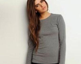 Long Sleeve Bella T-Shirt Option