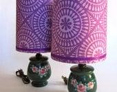 Springtime Vintage Lamps