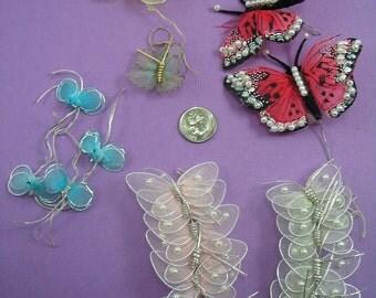 Destash - Lot of Butterflies Craft Supply