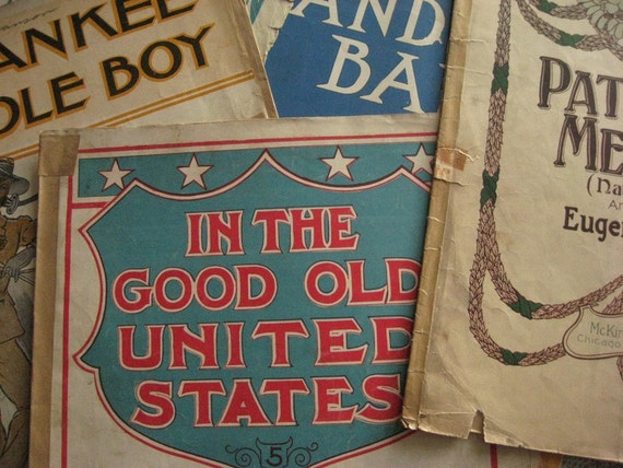 Patriotic Sheet Music Collection for Independence Day