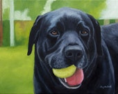 Custom Pet Portrait Oil Painting 11x14 10% donated to rescue