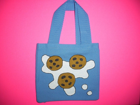 Tiny Cookies and Milk Tote