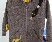 Snake and Mouse Hoodie Sizes 2T and 4T
