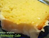 Lemon Friendship Cake