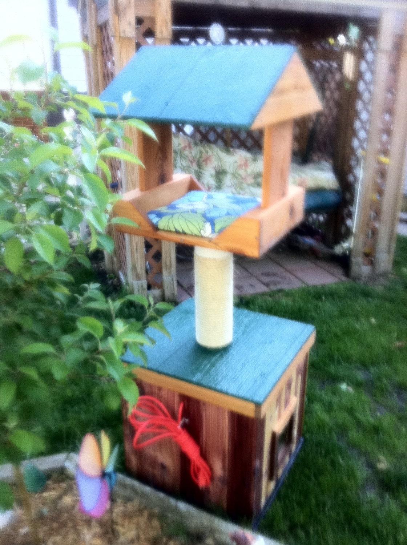 Heated Outdoor Cat House heated cedar heated loft