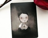 Portrait at the White Rat Postcard