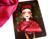 Frida - Postcard