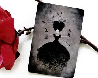 La Sorcière Noire - Postcard