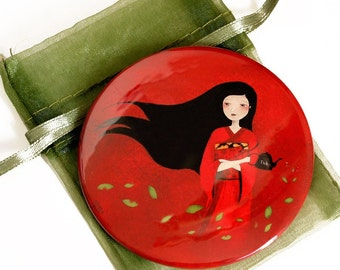 Tea - Pocket Mirror
