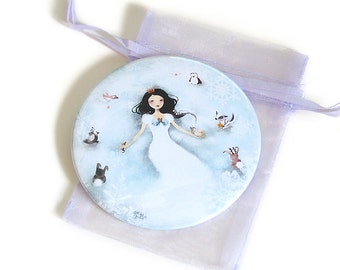 Winter Wonderland - Pocket Mirror