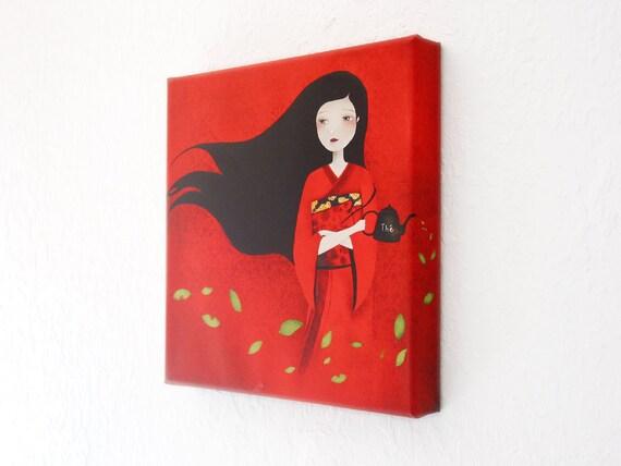 Tea - Canvas Print - 12x12inch