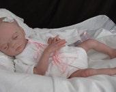 reborn baby ryan preemie baby girl Natalie Scholl sculpt limited edition