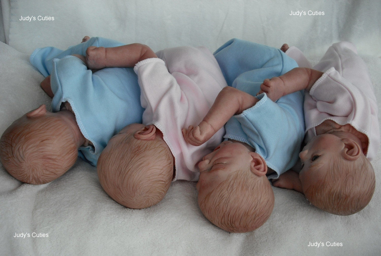 Stephanie Sullivan Reborn Quads Two Girls Two Boys Adorable