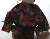 Geisha Plush (Dark Blue)