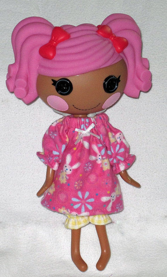 lalaloopsy doll clothes for 12 doll pink bunny by