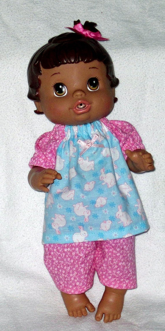 Baby Alive Blue Bunny and Capris Fits 12 13 Inch Baby Doll