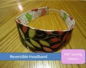 Headband Sewing Pattern (Reversible)