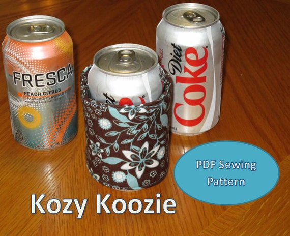Koozie PDF Sewing Pattern