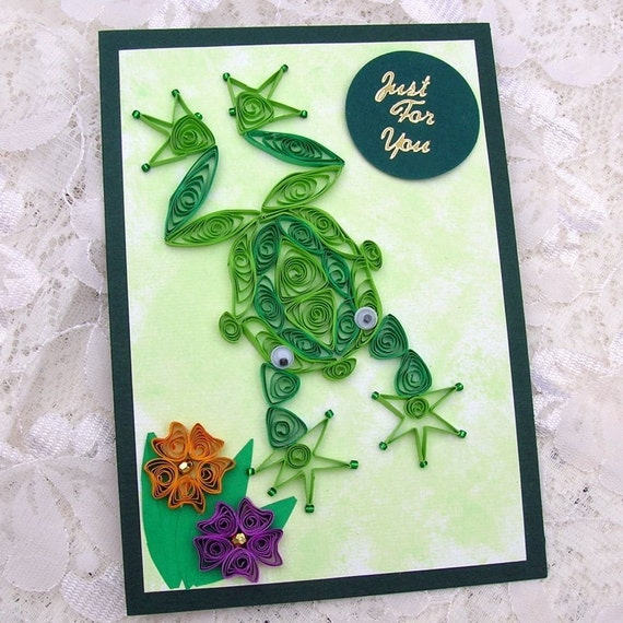 Order a paper frogs