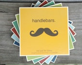Ministry of Moustaches Drink Coasters