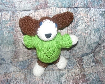 Knitted Floppy Eared Puppy