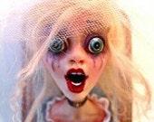 Shocked, the bride