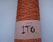 Lace yarn KINU cayenne red pure silk from ITO yarns 50g