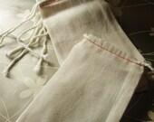Mugsy's qty 20 Linen Bags 3 x 5