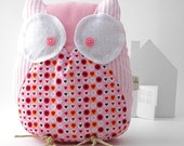 Beatrice the owl - Handmade in Italy
