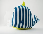 Ivano the whale - Handmade in Italy