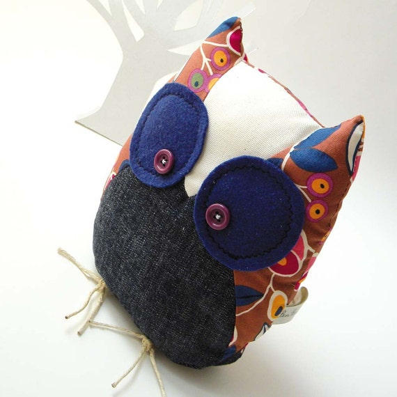 Frediano the owl - Handmade in Italy