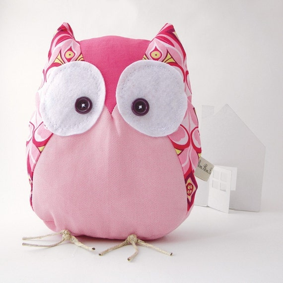 Magda the owl - Handmade in Italy