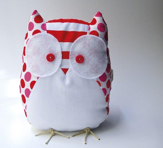 Olga the owl - Handmade in Italy