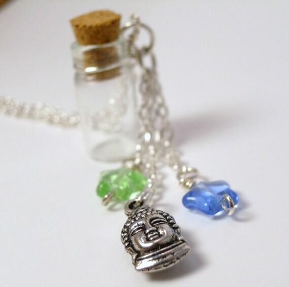 Nirvana - Empty Bottle Necklace