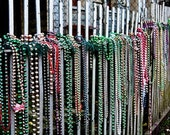 IN STOCK Mardi Gras Beads - New Orleans 8x10 Photograph