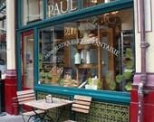 Travel Photography - Paul French Patisserie - 8x10 Fine Art Photograph - Paris Home Decor