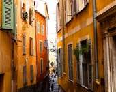 The old city of Nice, France 3 - 8x10 Fine Art Photograph - affordable home decor