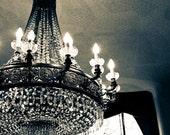 Spain Photography - Luxurious Chandelier Gaudi Barcelona, Spain, Bedroom Art, Chandelier, spanish decor, sparkle