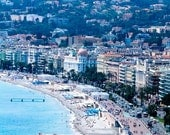 Beach Photography - A day on the beach in Nice, France - 8x10 Fine Art Photograph - French Home Decor